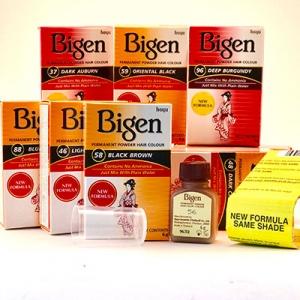 Краска - порошок Bigen Powder